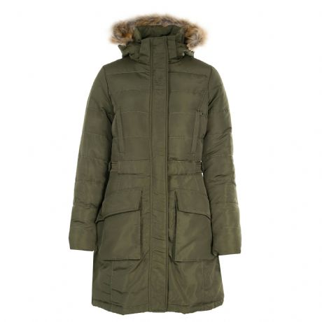 HORZE CLARISSA WOMANS LONG RIDING COAT - GREEN - RRP £99.00